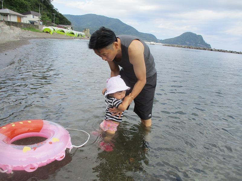 7月31日(水)・・・夏休み海水浴、そして蘭越町の黄金温泉へ_f0202703_19491550.jpg