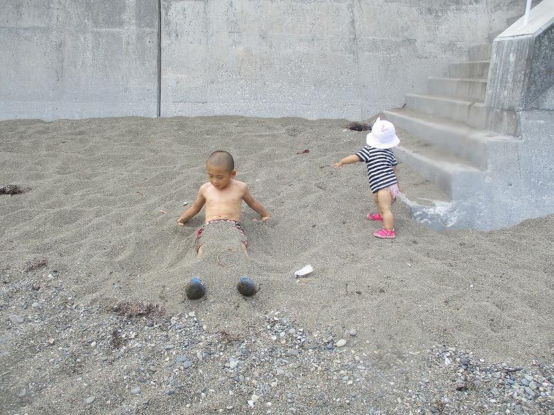 7月31日(水)・・・夏休み海水浴、そして蘭越町の黄金温泉へ_f0202703_19500771.jpg