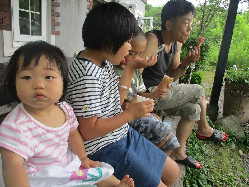 7月31日(水)・・・夏休み海水浴、そして蘭越町の黄金温泉へ_f0202703_20454267.jpg