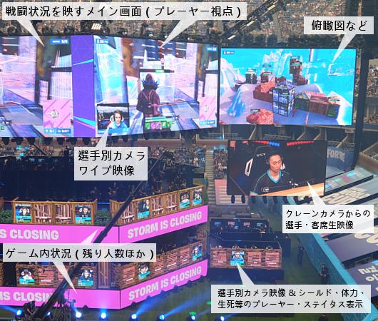 Fortnite World Cup 2019観戦記(1)巨大スクリーンとステージ_b0007805_23212901.jpg