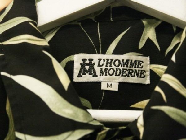 先日はANYのお二人と。 入荷柄シャツ、アロハシャツ、全て黒ベース!!_f0180307_21304776.jpg