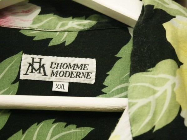 先日はANYのお二人と。 入荷柄シャツ、アロハシャツ、全て黒ベース!!_f0180307_21321904.jpg
