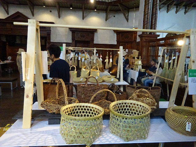 IWATE TRADITIONAL CRAFTS 2019(かご)_f0105112_04145420.jpg