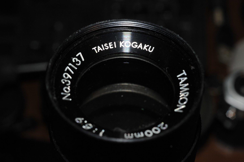 泰成光学(タムロン)200mm F5.9 ふたたびゲット_b0069128_08101461.jpg