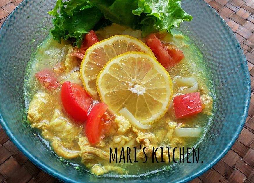冷やしカレーレモン麺_c0124528_11562013.jpg