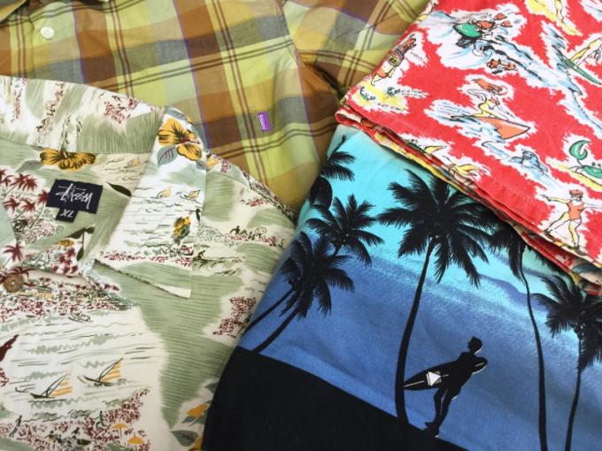 「 ゴキゲンSURFショーツ & STUSSYアロハシャツ 」_c0078333_19503679.jpg