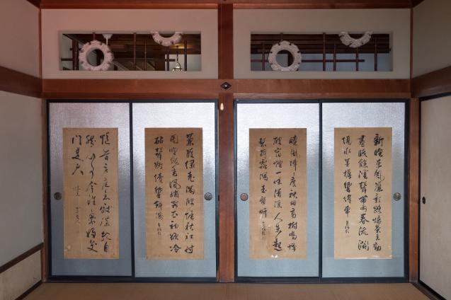 太宰治の生家「斜陽館」での出会い_e0369736_12010438.jpg