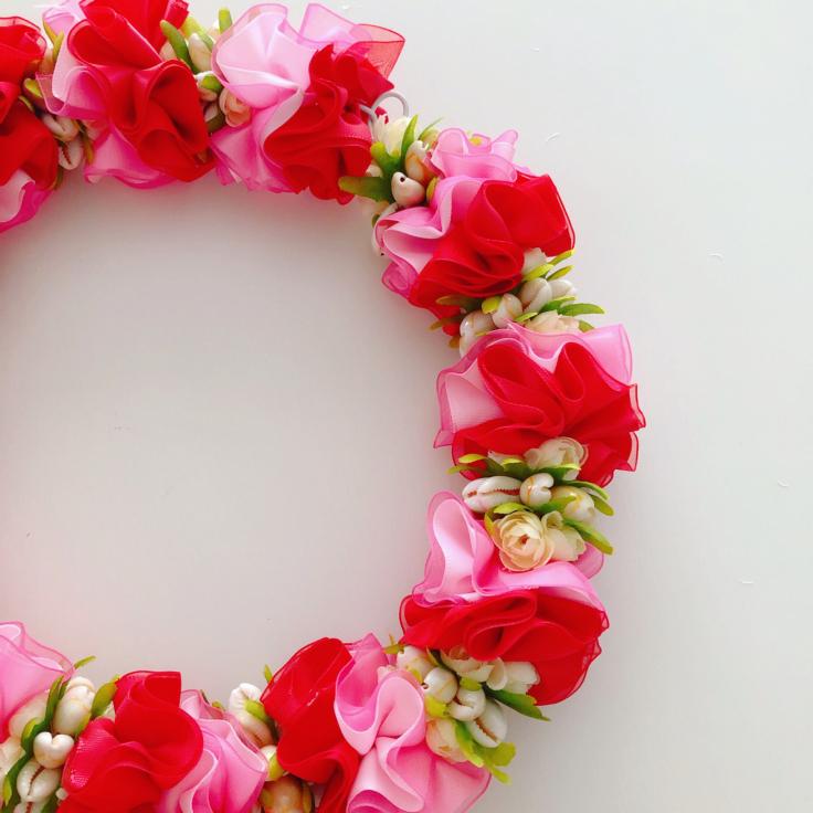 Hibiscus SummerShell Wreath🌺_f0017548_17063406.jpg