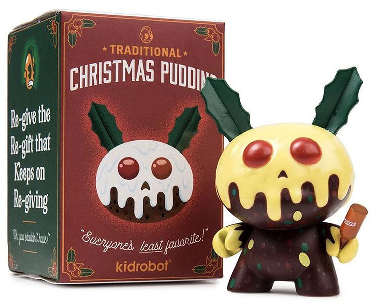 "Christmas Pudding 3\"" Dunny Mini Figure by Kronk_e0118156_14483182.jpg"