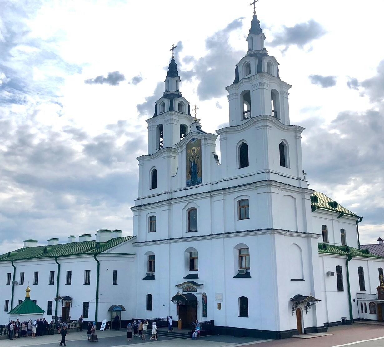 """ロシア正教会""""聖霊大聖堂""""@ミンスク/ベラルーシ_a0092659_13511960.jpg"""