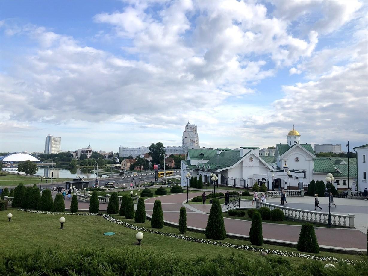 """ロシア正教会""""聖霊大聖堂""""@ミンスク/ベラルーシ_a0092659_14012540.jpg"""
