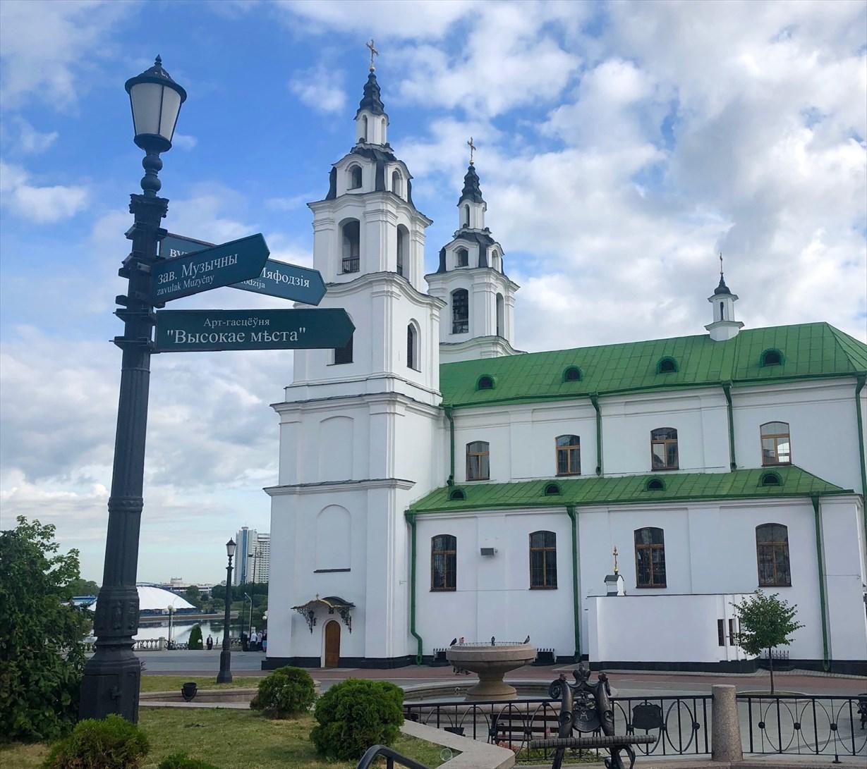 """ロシア正教会""""聖霊大聖堂""""@ミンスク/ベラルーシ_a0092659_14254039.jpg"""