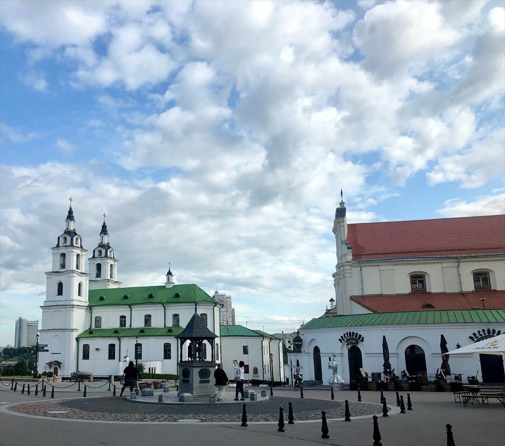 """ロシア正教会""""聖霊大聖堂""""@ミンスク/ベラルーシ_a0092659_14495347.jpg"""