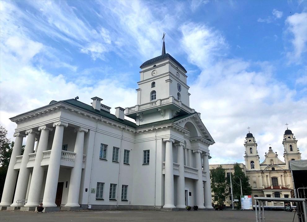 """ロシア正教会""""聖霊大聖堂""""@ミンスク/ベラルーシ_a0092659_14500040.jpg"""