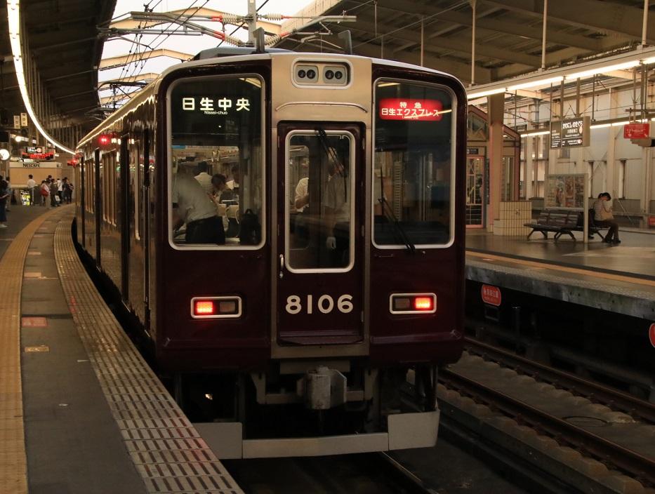 阪急8000系 8006F 日生_d0202264_20291983.jpg