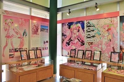 「桜ミク」ミュージアム*まちなか情報センター_d0131668_1531978.jpg