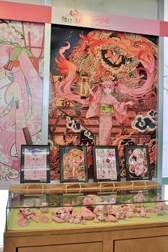 「桜ミク」ミュージアム*まちなか情報センター_d0131668_154532.jpg