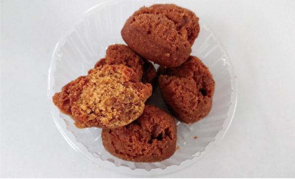 【袋ドーナツ】第一パン「黒糖サーターアンダギー」【しっとり〜】_d0272182_12230551.jpg