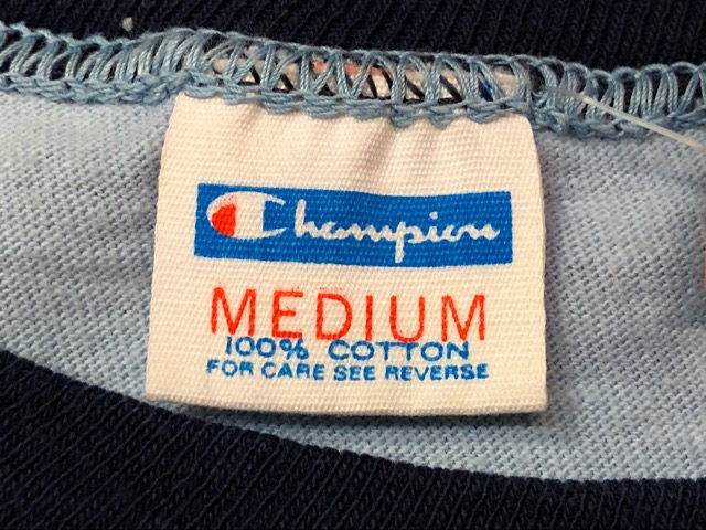 Vintage Champion Ringer T-Shirt!!(マグネッツ大阪アメ村店)_c0078587_17452951.jpg