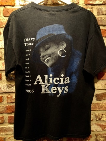 "2005 "" DELTA -PRO WEIGHT- \"" 100% cotton BODY - ALICIA KEYS - Vintage ROCK Tee SHIRTS ._d0172088_20270978.jpg"