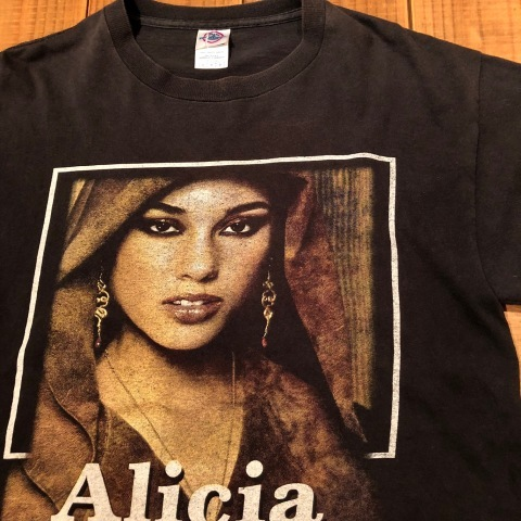 "2005 "" DELTA -PRO WEIGHT- \"" 100% cotton BODY - ALICIA KEYS - Vintage ROCK Tee SHIRTS ._d0172088_21461833.jpg"