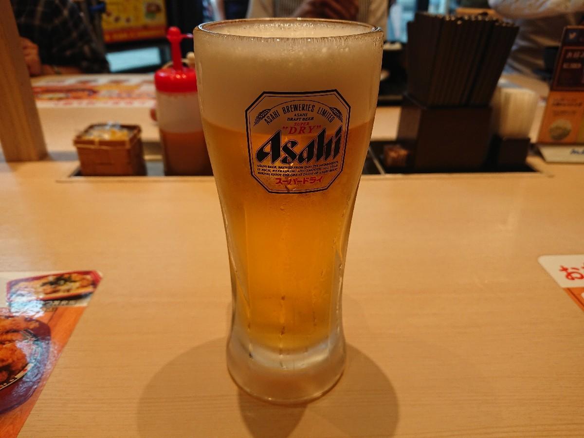 8/1  松のやル・シーヌュ府中です  ロースかつトマトカレー & 生ビール_b0042308_15104440.jpg