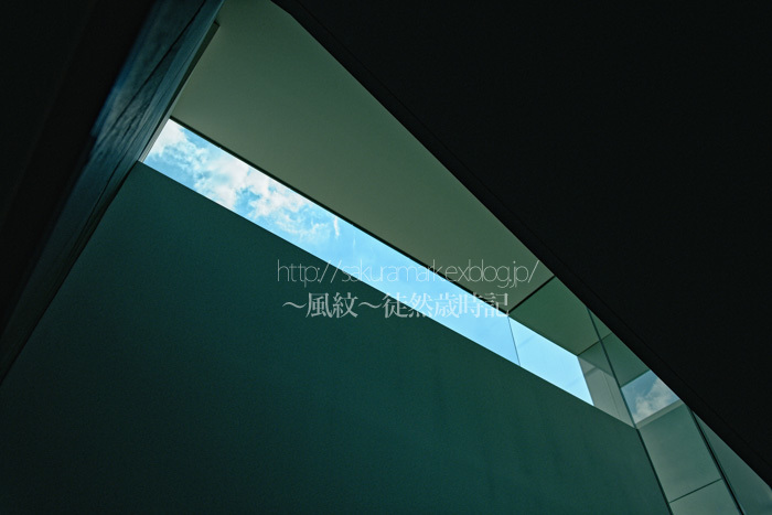 モンドリアンな青の空間。_f0235723_20501240.jpg