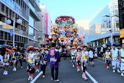 三社大祭 お通り_c0299631_22301399.jpg