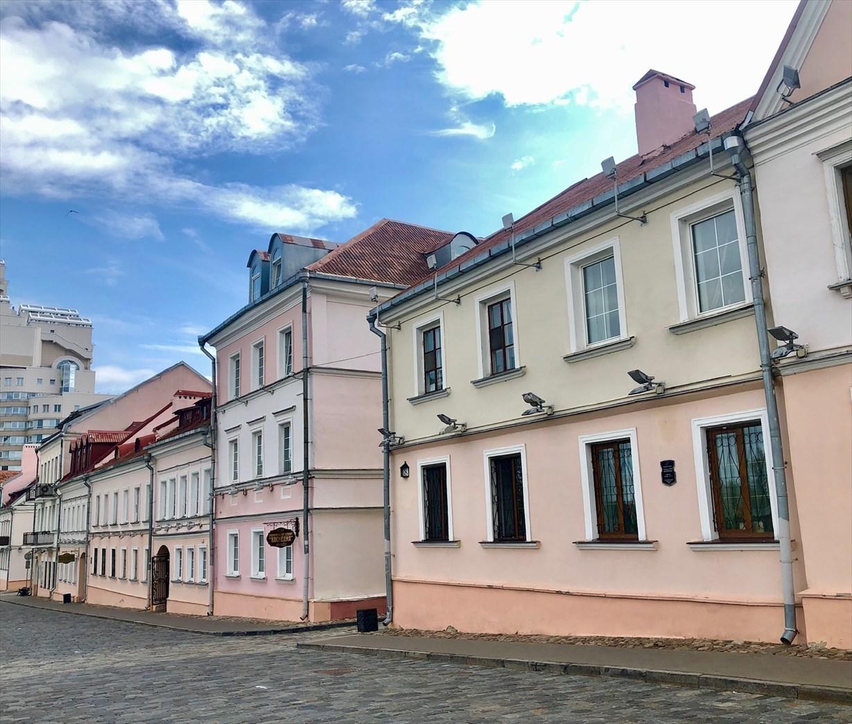 涙の島とトラエツカヤ旧市街地@ミンスク/ベラルーシ_a0092659_17075776.jpg