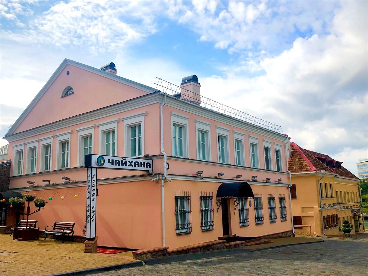 涙の島とトラエツカヤ旧市街地@ミンスク/ベラルーシ_a0092659_17082855.jpg