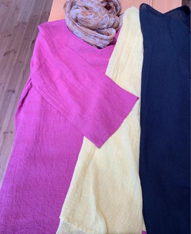 水戸店・笠間店より8月営業日のお知らせ・ペルーの新作ポーチ ・綿麻素材のブラウス_d0187468_15302284.jpg