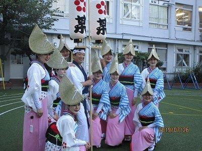神楽阪「阿波踊り」_b0092684_13374016.jpg