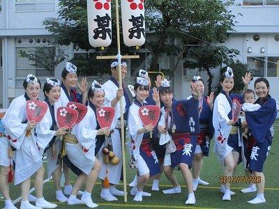 神楽阪「阿波踊り」_b0092684_13374987.jpg