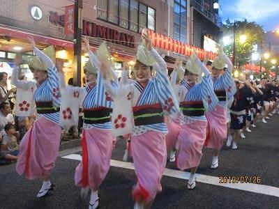 神楽阪「阿波踊り」_b0092684_13381448.jpg