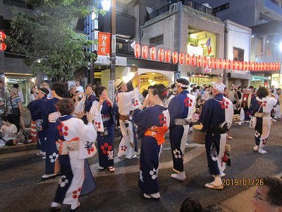 神楽阪「阿波踊り」_b0092684_13384523.jpg