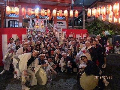 神楽阪「阿波踊り」_b0092684_13390542.jpg