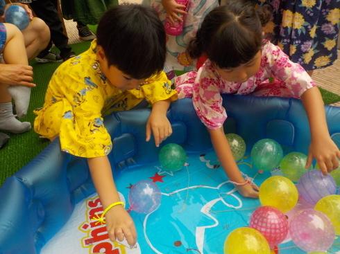 【南砂園】夏祭り_a0267292_17523726.jpg