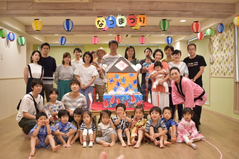 【南砂園】夏祭り_a0267292_17563874.jpg