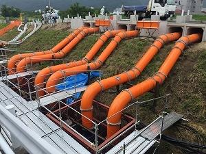【新聞掲載】洪水対策としての仮設排水ポンプ設備_f0318400_09574771.jpg
