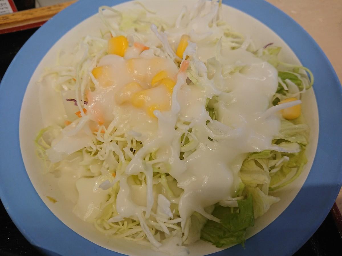 8/2  選べる小鉢の玉子かけごはん冷奴ライスミニ + 生野菜 @松屋_b0042308_06562565.jpg