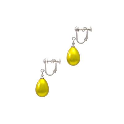 身につける漆 漆のアクセサリー イヤリング 華蜜珠 レモンゴールド色 坂本これくしょんの艶やかで美しくとても軽い和木に漆塗りのアクセサリー SAKAMOTO COLLECTION wearable URUSHI accessories earings Flower Honey Jewel Lemon Gold color 耳元で揺れるふっくらしたつぼみのような形で可愛らしさと遊び心のあるデザインが印象的、キラキラと発色の良い鮮やかなビタミンカラー、片側が約1.7gとても軽く着けているのを忘れてしまうほど、耳が痛くなりにくいつくりです。 #イヤリング #華蜜珠 #レモンゴールド #つぼみ形イヤリング #れもん色 #軽いイヤリング #漆のイヤリング #漆のアクセサリー #earings #FlowerHoney #FlowerJewel #LemonGold #Lemon