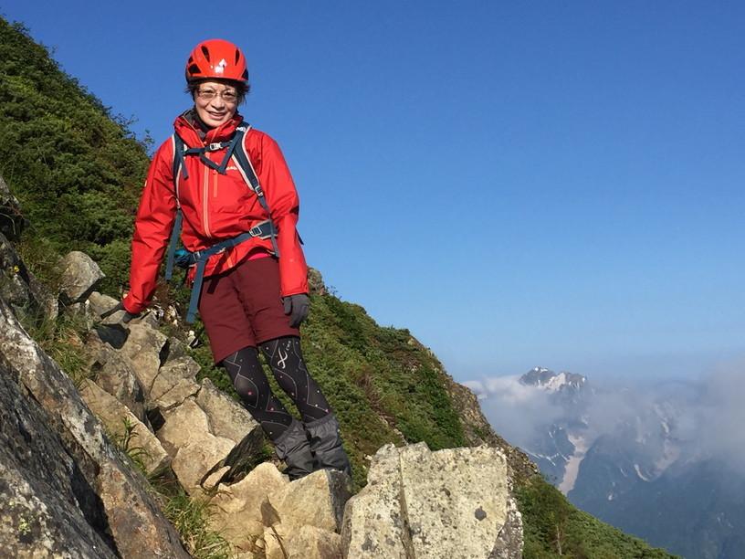 """2019年7月『天空が友達 -北アルプス後立山連峰縦走-』July 2019 \""""On the Skyline, Trekking of North Japan Alps\""""_c0219616_10430867.jpg"""