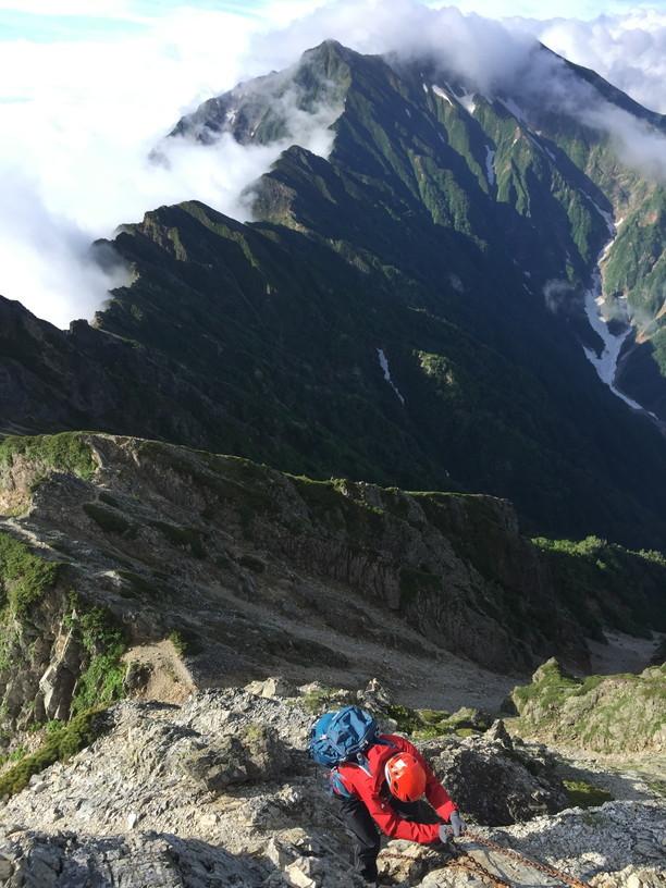 """2019年7月『天空が友達 -北アルプス後立山連峰縦走-』July 2019 \""""On the Skyline, Trekking of North Japan Alps\""""_c0219616_11173506.jpg"""