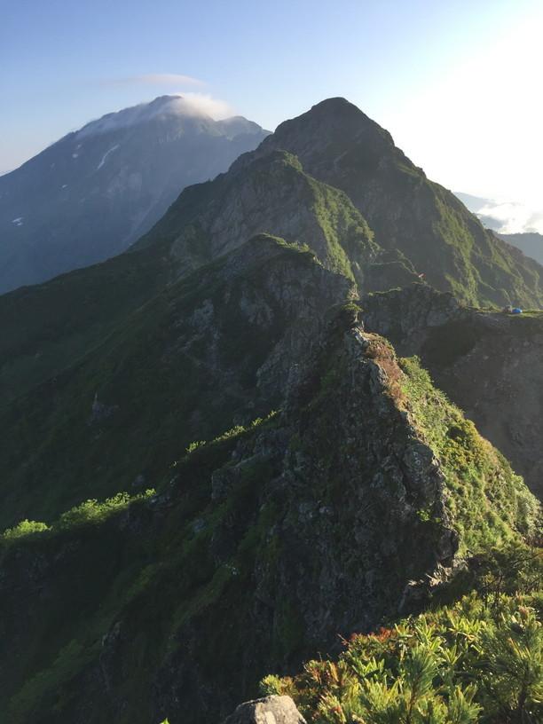"""2019年7月『天空が友達 -北アルプス後立山連峰縦走-』July 2019 \""""On the Skyline, Trekking of North Japan Alps\""""_c0219616_11355110.jpg"""
