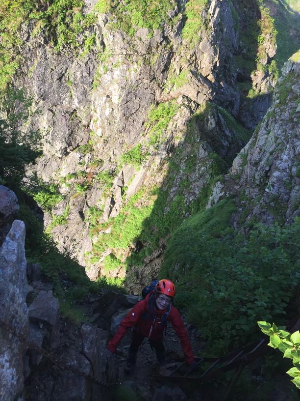 """2019年7月『天空が友達 -北アルプス後立山連峰縦走-』July 2019 \""""On the Skyline, Trekking of North Japan Alps\""""_c0219616_11355156.jpg"""