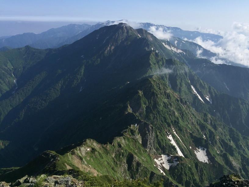 """2019年7月『天空が友達 -北アルプス後立山連峰縦走-』July 2019 \""""On the Skyline, Trekking of North Japan Alps\""""_c0219616_11464414.jpg"""
