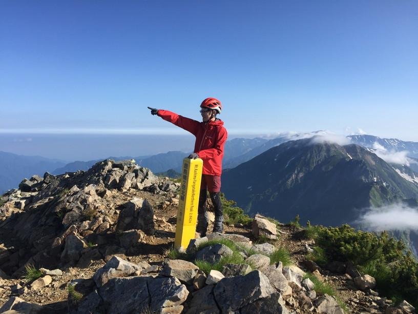 """2019年7月『天空が友達 -北アルプス後立山連峰縦走-』July 2019 \""""On the Skyline, Trekking of North Japan Alps\""""_c0219616_11464421.jpg"""