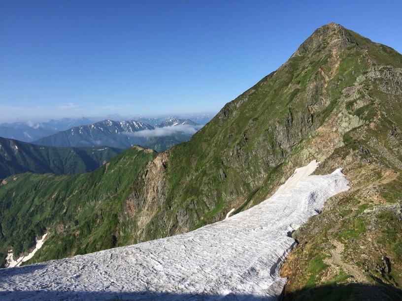 """2019年7月『天空が友達 -北アルプス後立山連峰縦走-』July 2019 \""""On the Skyline, Trekking of North Japan Alps\""""_c0219616_11464432.jpg"""