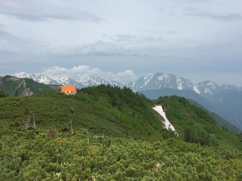 """2019年7月『天空が友達 -北アルプス後立山連峰縦走-』July 2019 \""""On the Skyline, Trekking of North Japan Alps\""""_c0219616_12032174.jpg"""