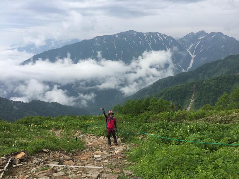 """2019年7月『天空が友達 -北アルプス後立山連峰縦走-』July 2019 \""""On the Skyline, Trekking of North Japan Alps\""""_c0219616_12032181.jpg"""